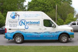 National Water Service van
