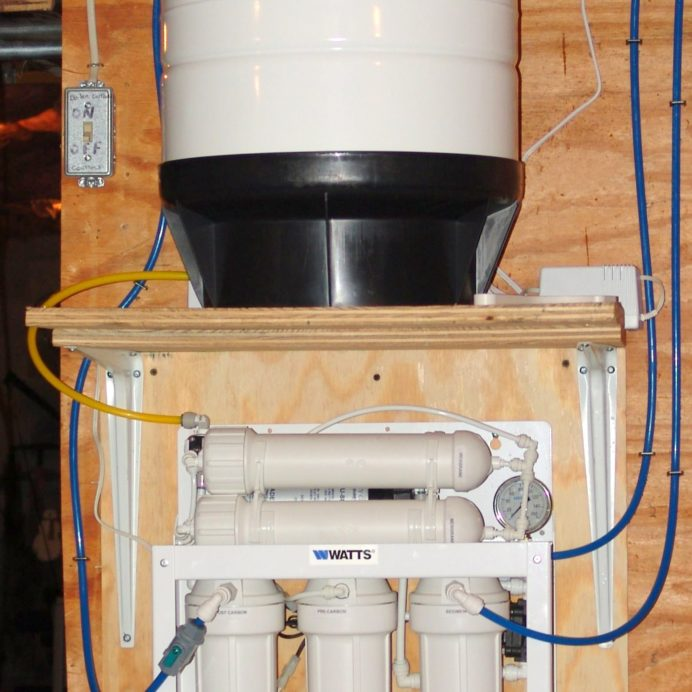 A Reverse Osmosis System for 99.9% contaminant free cooking & drinking water