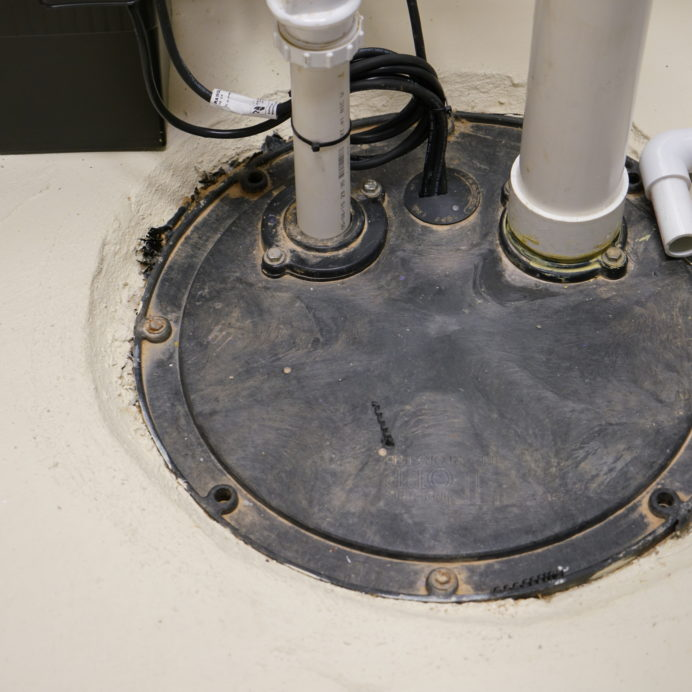 Sump Pump without a Clear Cover