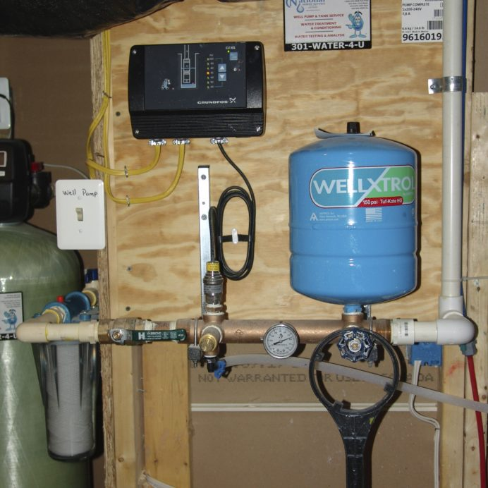 Well Pump Constant Water Pressure System