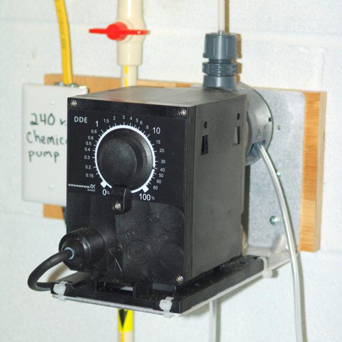 Grundfos Chemical Feeder dosing pump