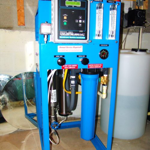 Whole House 4000 gallon per day Reverse Osmosis System for up too 99.9% contaminant free water
