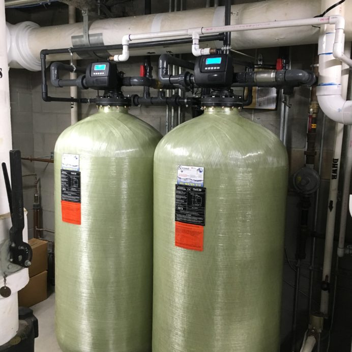 Commercial Water Treatment Tanks