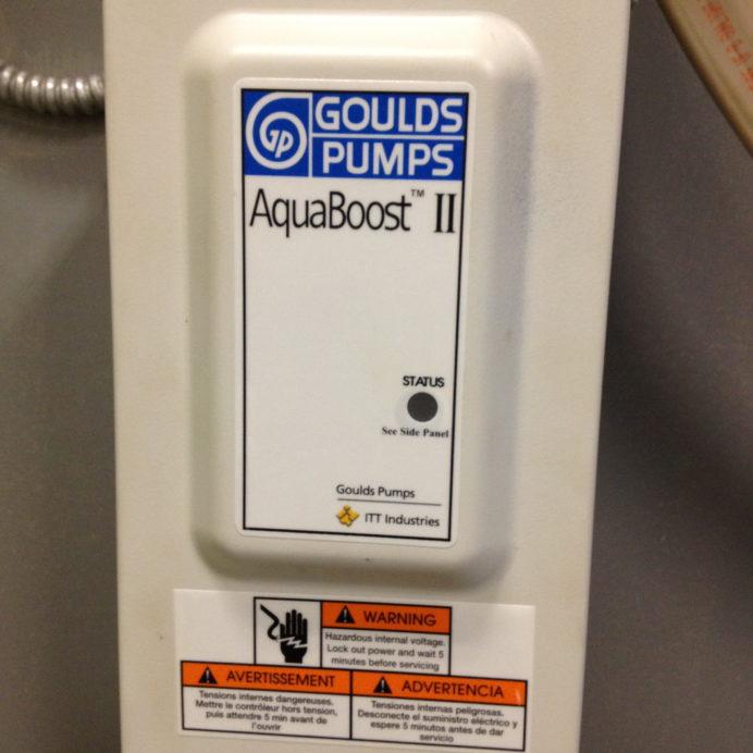 Goulds Well Water Pump AquaBoost Controller Center