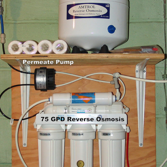 Reverse Osmosis System for up too 99.9% contaminant free cooking & drinking Water