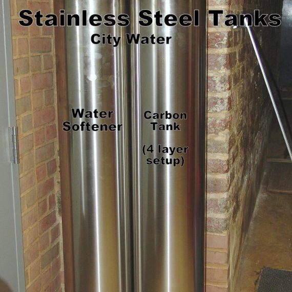Stainless Steel Water Softener