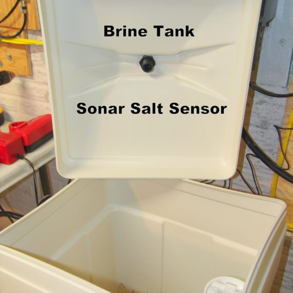 Brine Tank for a Water Softener