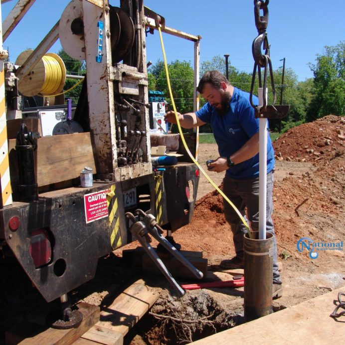 Removing Solid pipe from a very deep well to replace the broken well water pump