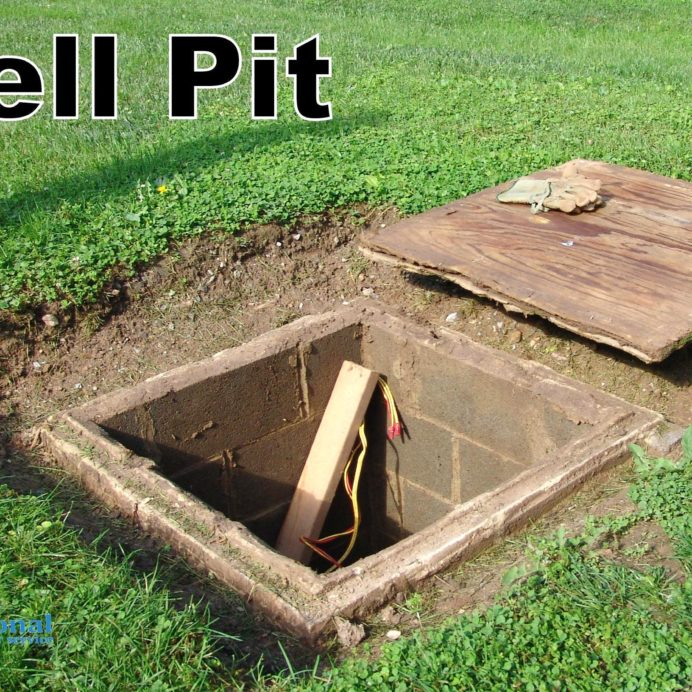 Open Well Water Pit