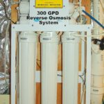 300 GPD Reverse Osmosis System for up too 99.9% contaminant free cooking & drinking water