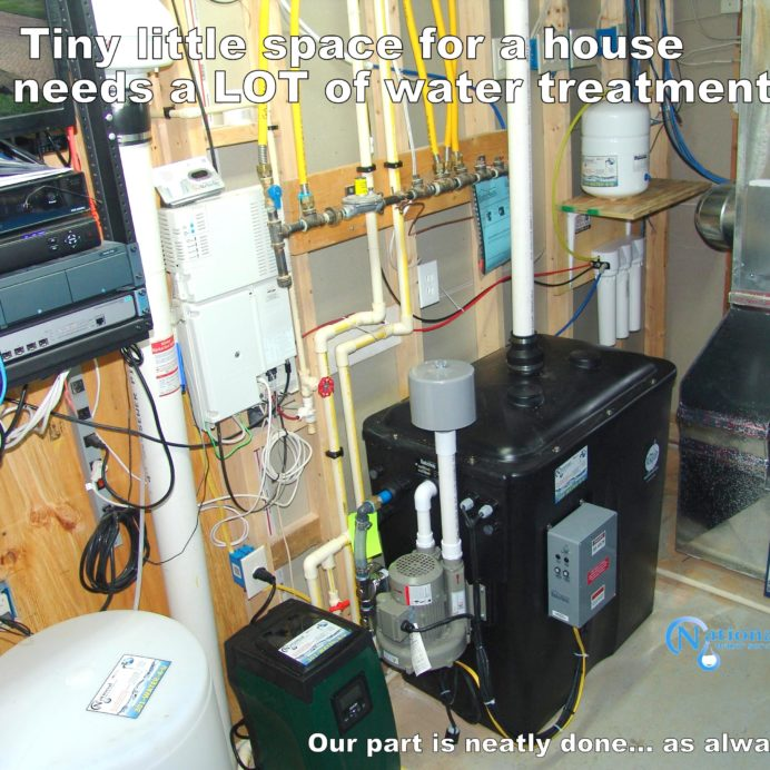 Whole House Water Treatment System, Radon in Water Remediation System, Water Pressure Re-booster, Reverse Osmosis