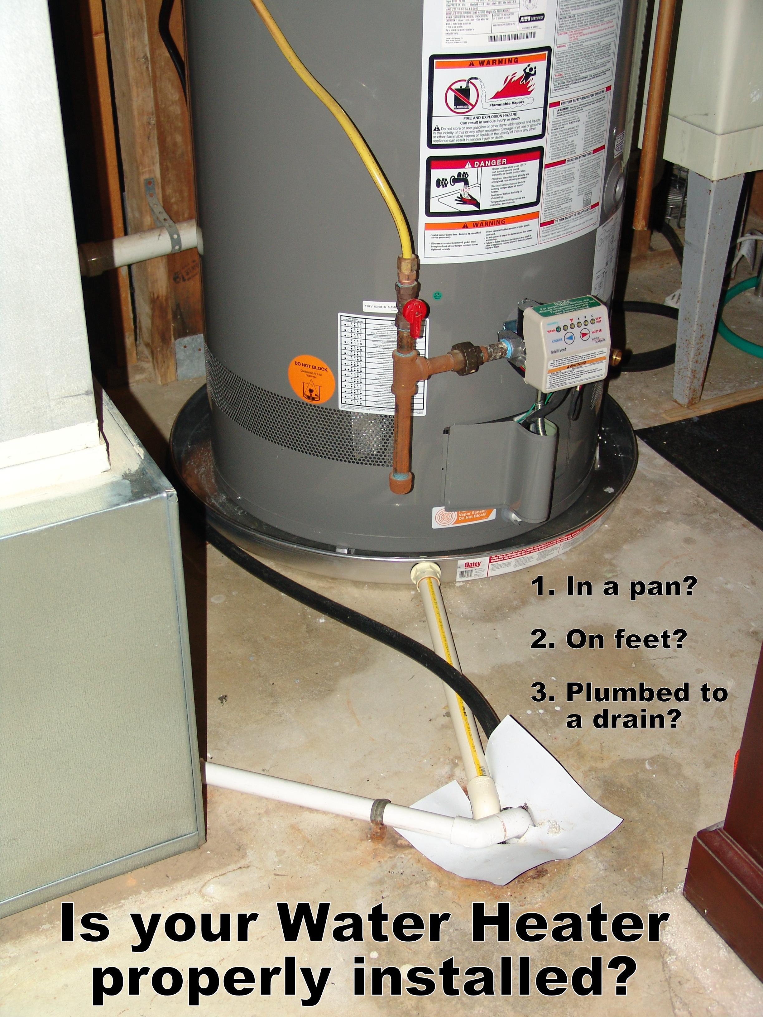 Hot Water Heater Floor Pan Carpet Vidalondon