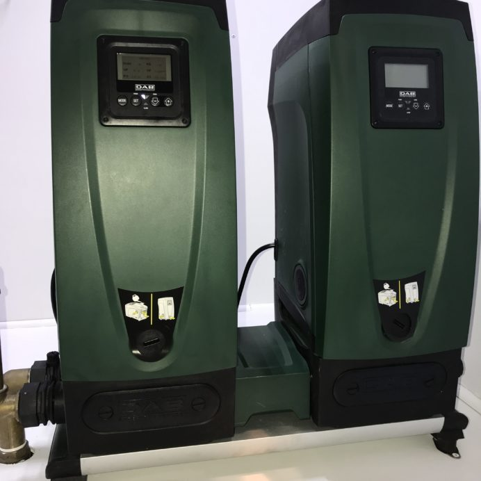 Twin DAB Water Pressure Booster Pumps