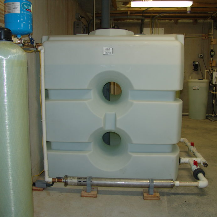 Water Storage Tanks, Constant Water Pressure System, Whole House Reverse Osmosis, Chemical Feeders Pump and Solution Tanks