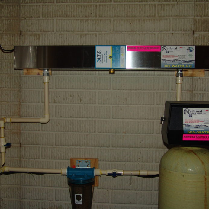 Ultraviolet Disinfection System to remove 99.9% of all Bacteria from your water