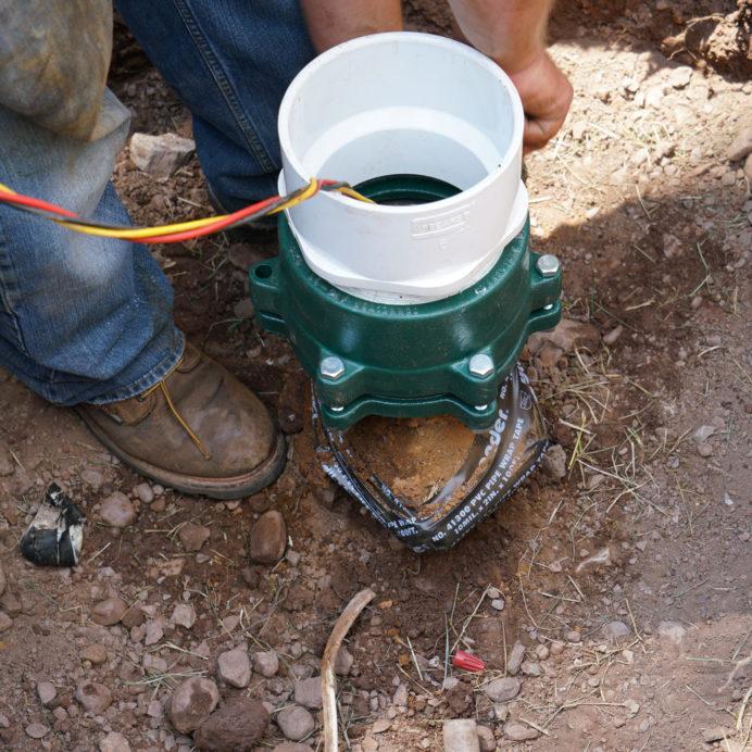 Repairing a broken Well Casing