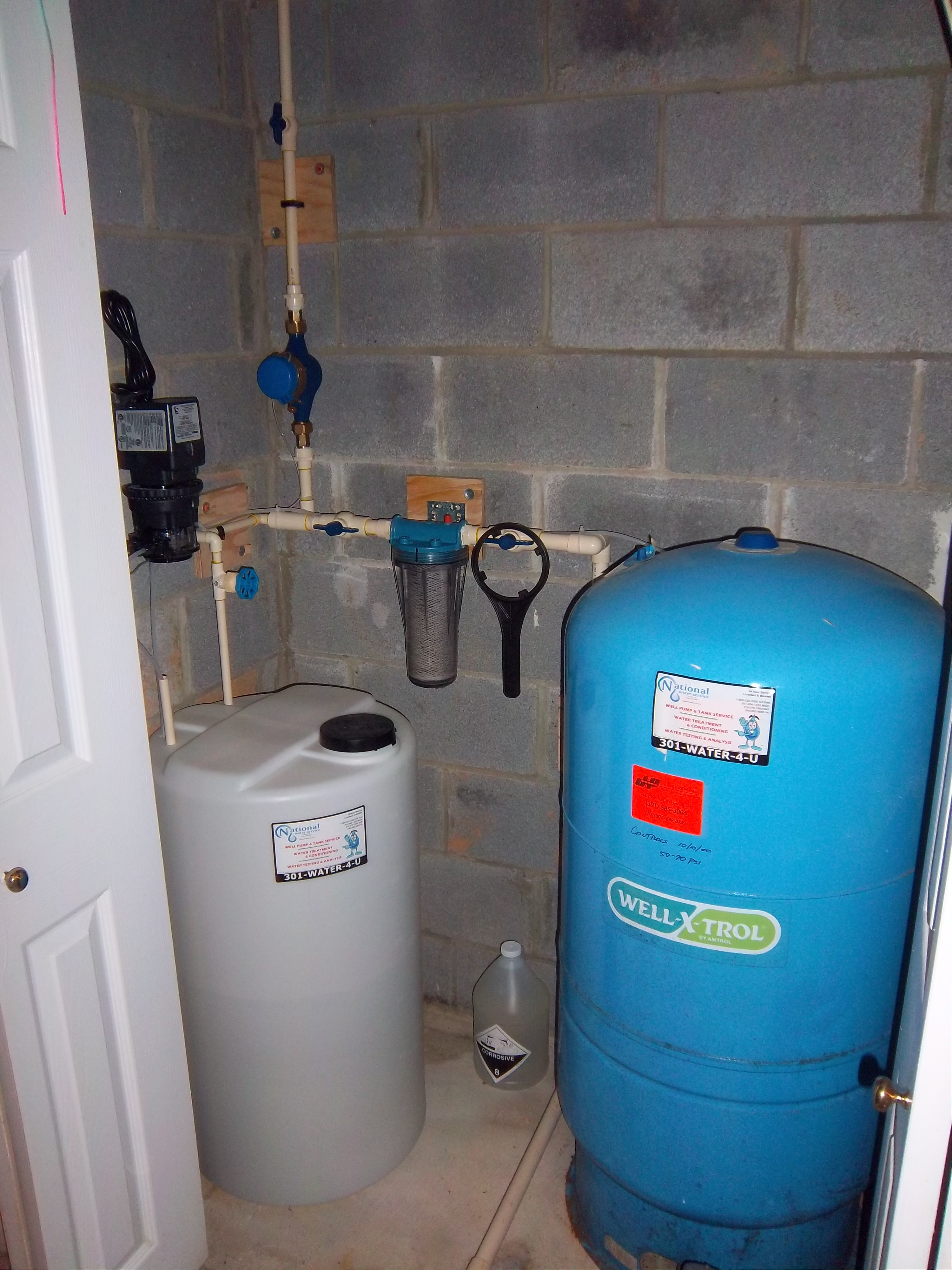 Chemical Feeders Gallery - National Water Service
