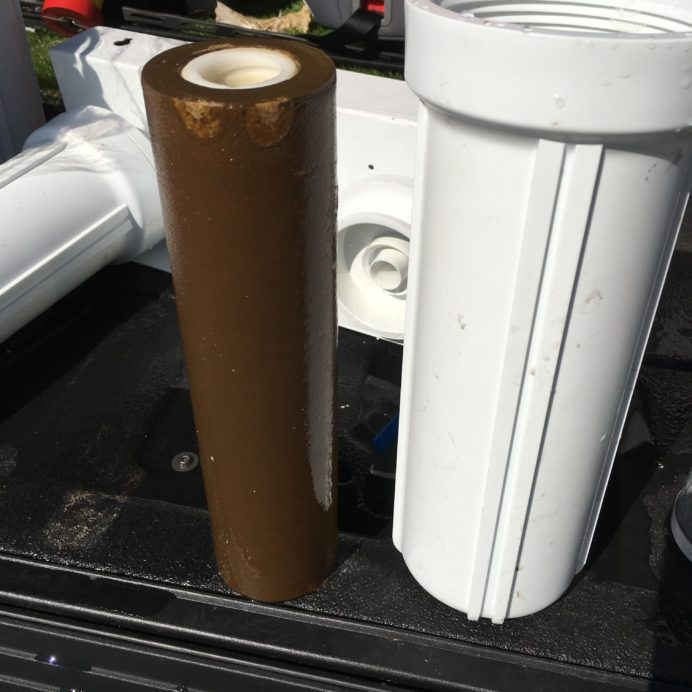 Very dirty pre-filter from a Reverse Osmosis System