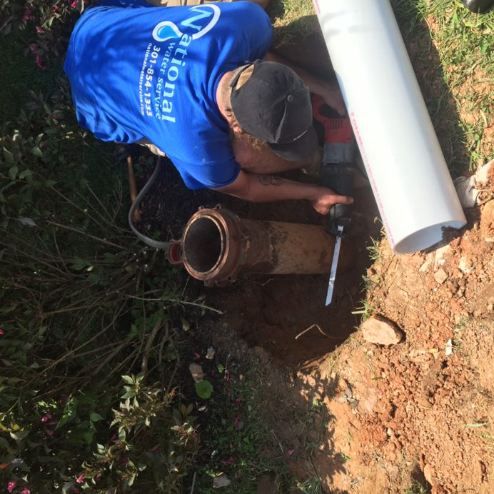 Replacing an old, corroded Well Casing and Cap