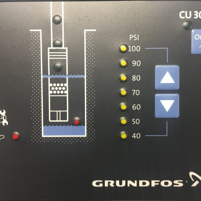 Grundfos Well Pump Constant Water Pressure Control System