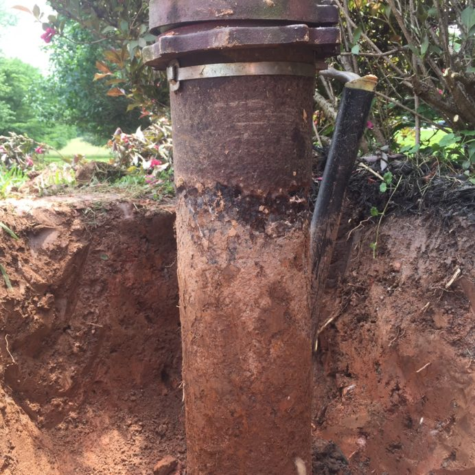 Well Casing with holes can lead to bacteria, bugs and other contaminants entering the well.
