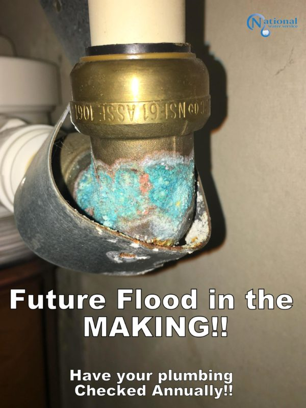Pipe Corrosion can lead to leaks & floods