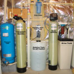 Pressure Tank, Twin Carbon Tanks, Solution Feeder, Sediment filters & Water Softener