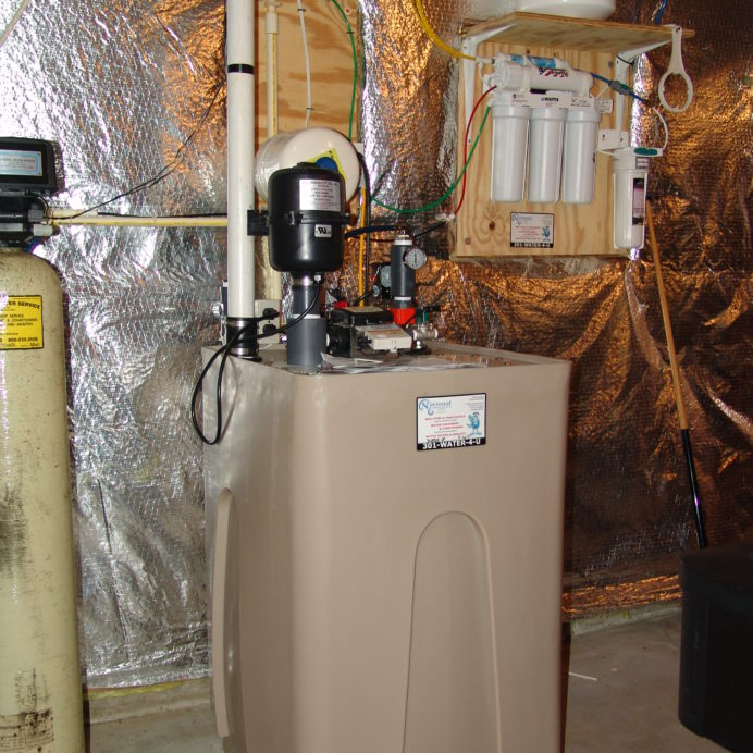 A Bubble-Up XP for the remediation of cancer causing Radon in Water and a Reverse Osmosis System for 99.9% contaminant free cooking & drinking water