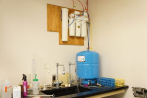 Reverse Osmosis and a pressure tank