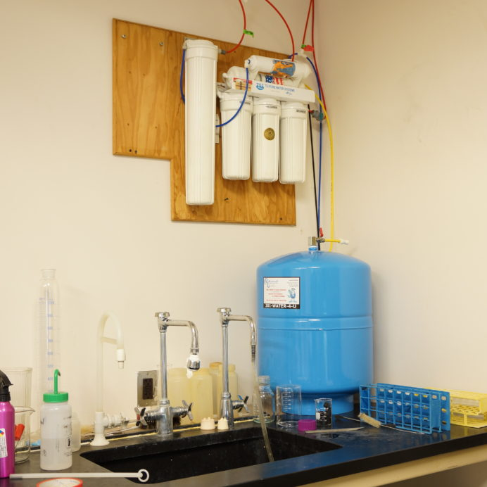 Reverse Osmosis Water Treatment System for 99.9 contaminant free water for a Lab in a Doctors Office