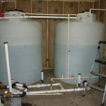 Water Storage Tanks for low yielding wells