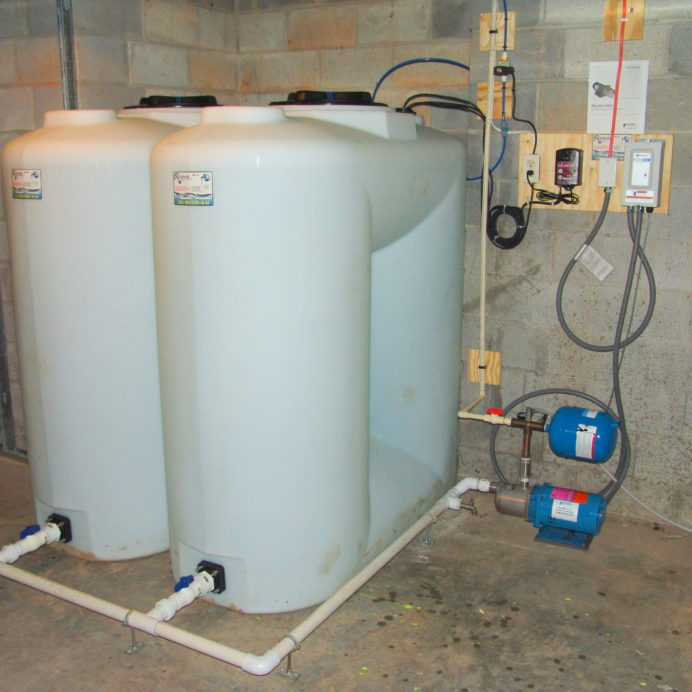 Two Water Storage Tanks, a water Re-Booster, and an Alarm System