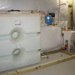 Water Storage Tanks, Constant Water Pressure System, water Re-Booster for the stored water, Flood Protection Bars