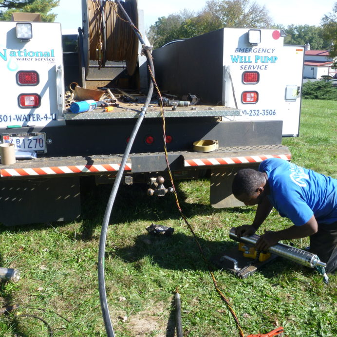 Installing a new Well Water Pump