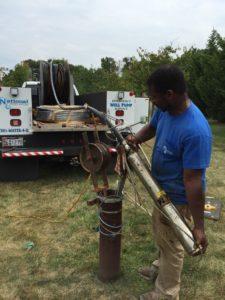 Repairing a broken Well Water Pump