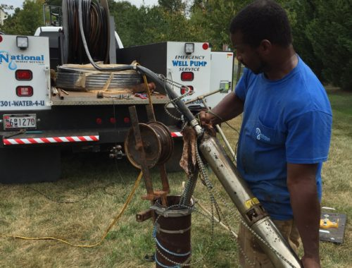 Repairing a broken Well Water Pump