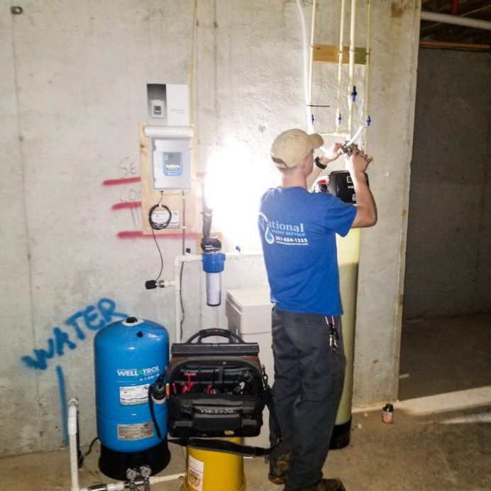 Installation of a Water Softener and Brine, Sediment Filter, Pressure Tank and a new Control Panel