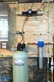 Ultraviolet Light for bacteria remediation, Carbon Tank & Sediment Filter