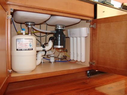 Under-sink Reverse Osmosis for up too 99.9% contamination free drinking water
