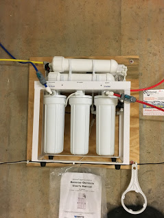 Reverse Osmosis for up too 99.9% contamination free drinking water