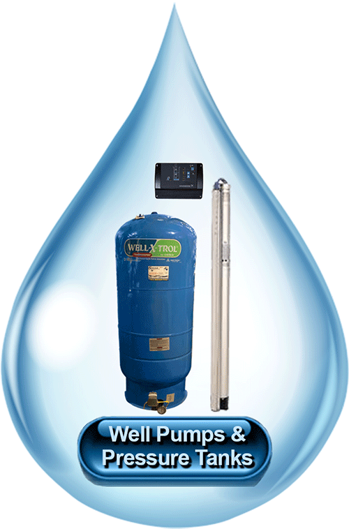 Well Pumps and Pressure Tanks
