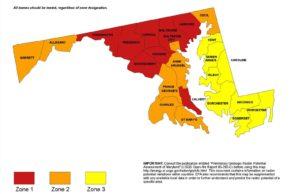 Maryland Radon Map