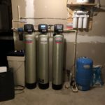 a water softener, a sediment filter, an acid neutralizer, a multimedia tank, a reverse osmosis and a pressure tank