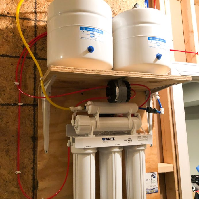 Reverse Osmosis System for up too 99.9% contamination free drinking water