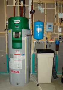 Constant Water Pressure Control Box with Manifold and Hot Water Heater