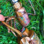 broken brass valve