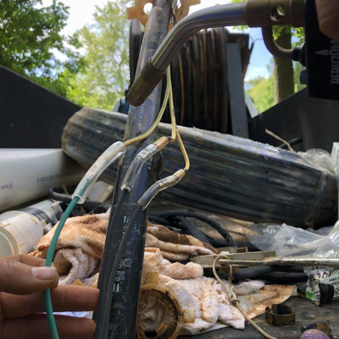 wire break repair