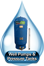 Well Pumps & Pressure Tanks