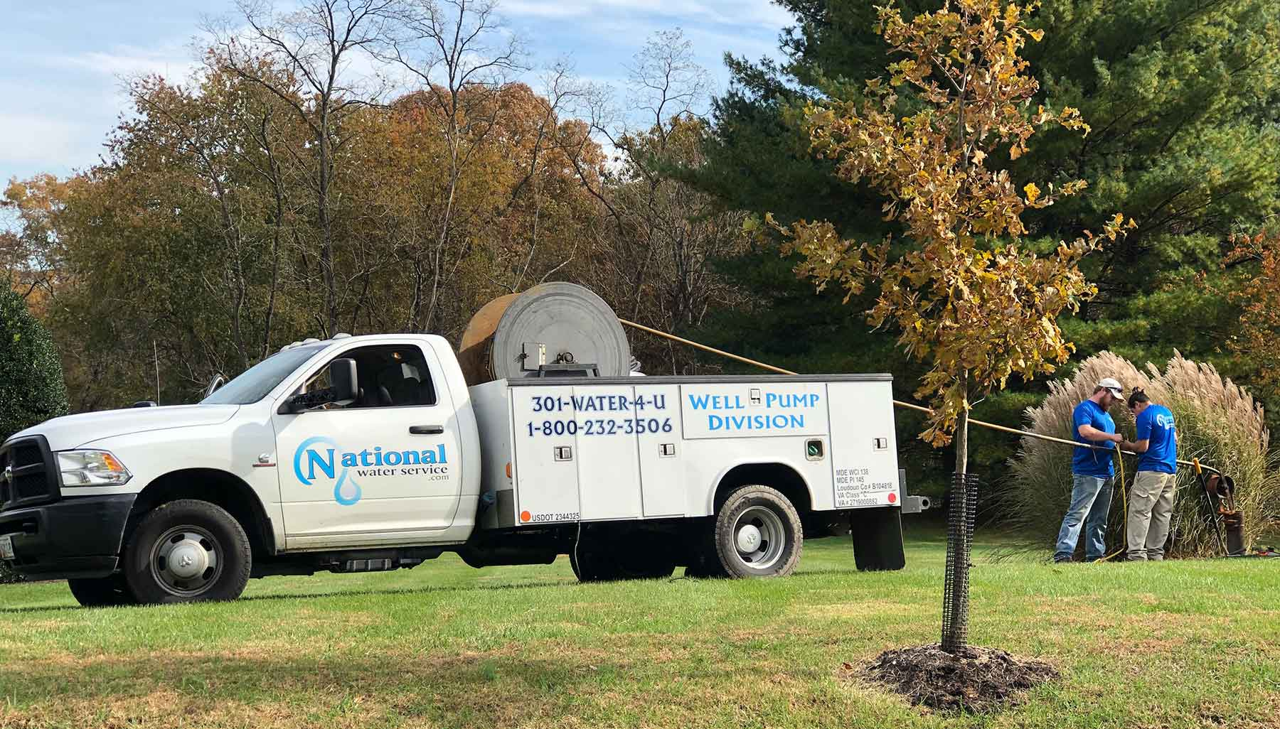 National Water Service Truck