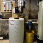 a Solution feeder, a sediment filter and a reverse osmosis